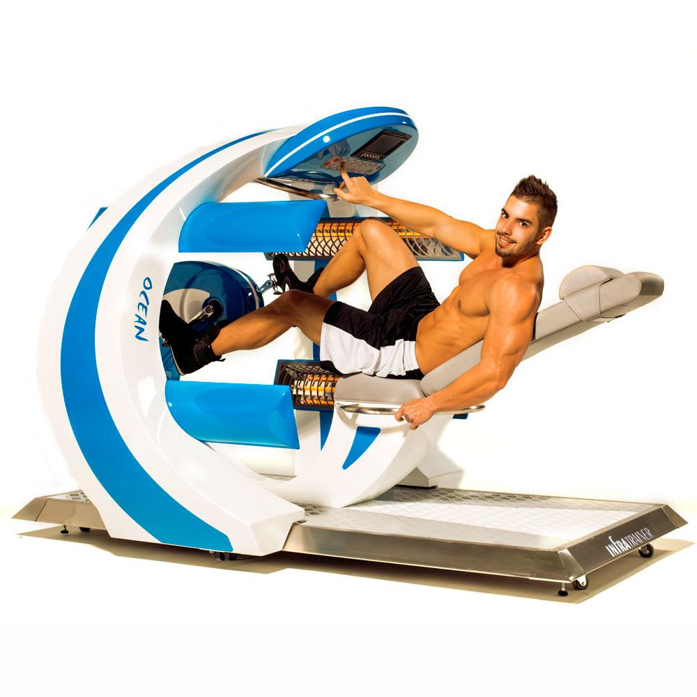 InfraTrainer fekvőkerékpár